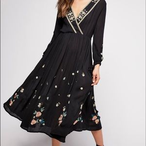 Free People | The Enchanted Forest Midi Dress
